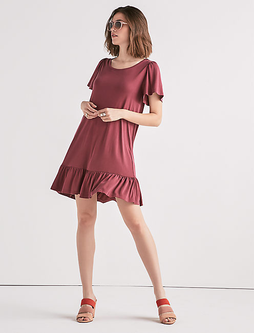 Sand Washed Tee Dress by Lucky Brand