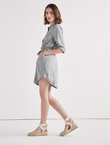 Lucky Tencel Shirt Dress