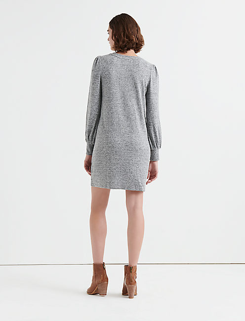 CLOUD JERSEY DRESS, HEATHER GREY