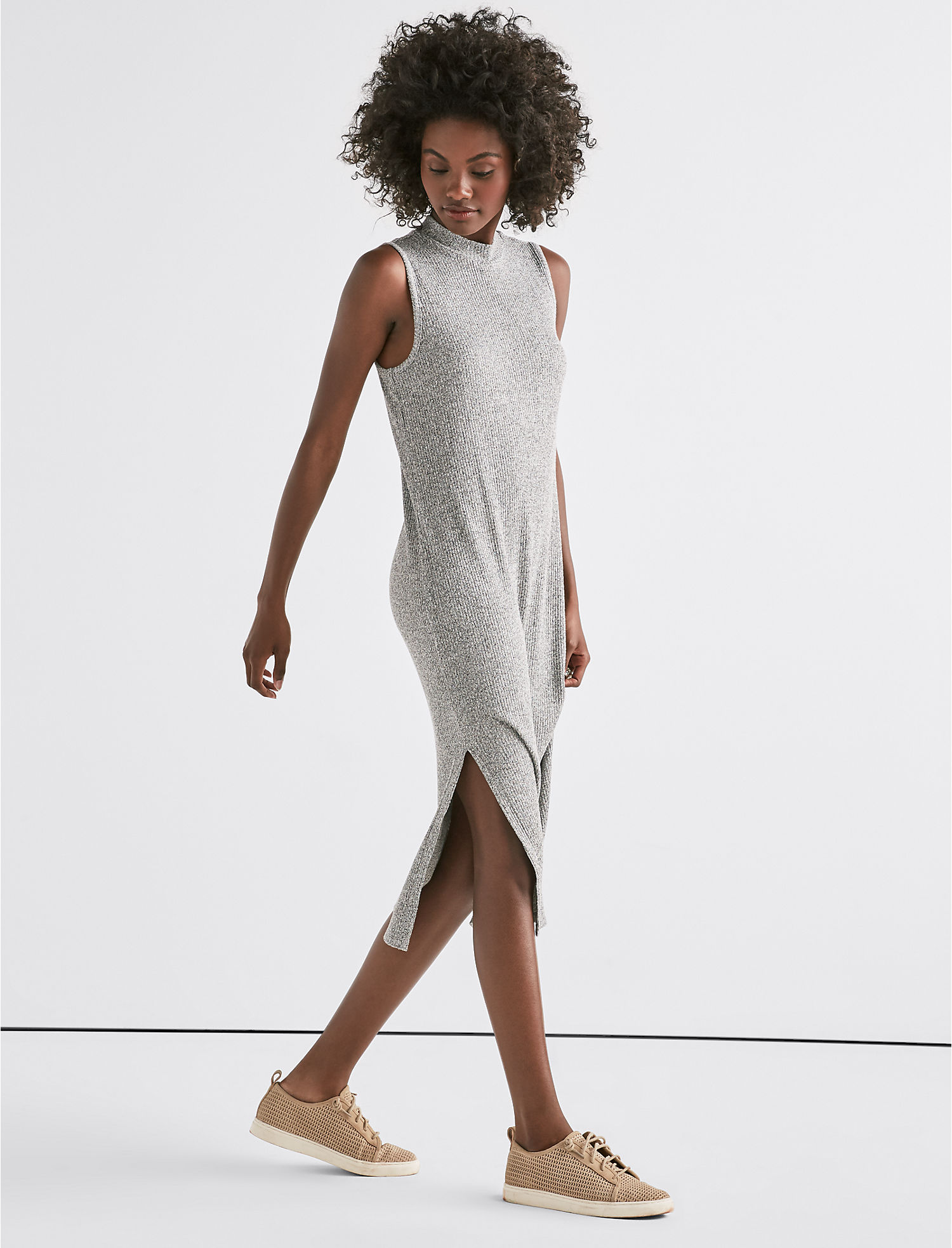 Ribbed Knit Dress | Tuggl