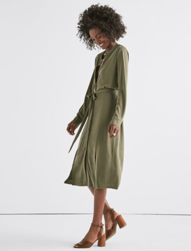 Lucky Sandwash Shirt Dress