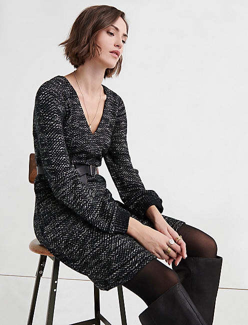 Lucky Sweater Shift Dress