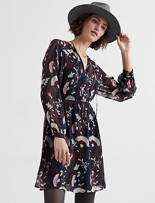 FLORAL DRESS,