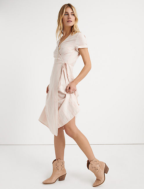 Ashley Wrap Dress