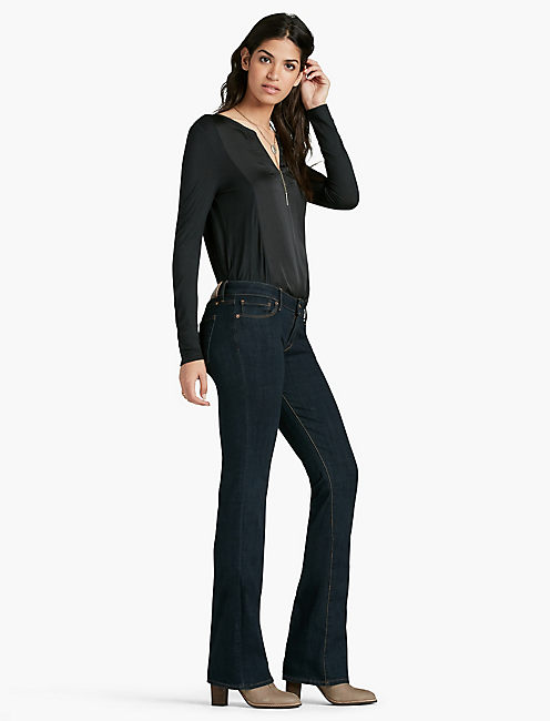 Lucky Lolita Mid Rise Bootcut Jean In Cranbrook