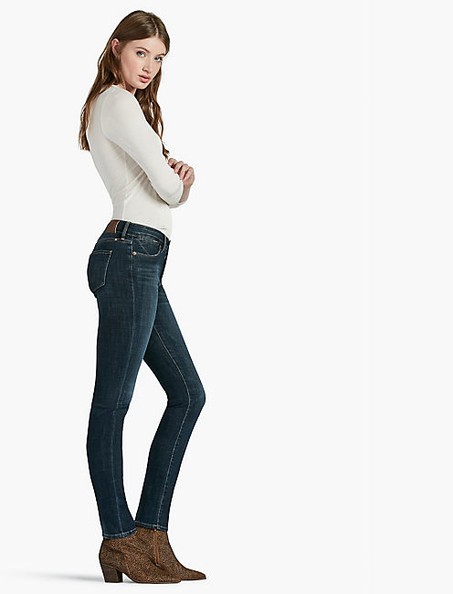Lucky Hayden High Rise Sculpting Skinny Jean In Rampart