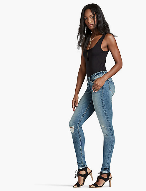 Lucky Sasha Super Skinny Legging Jean In Crestfallen