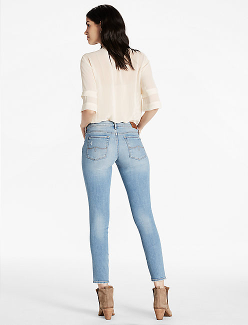 LOLITA MID RISE SKINNY ANKLE JEAN,