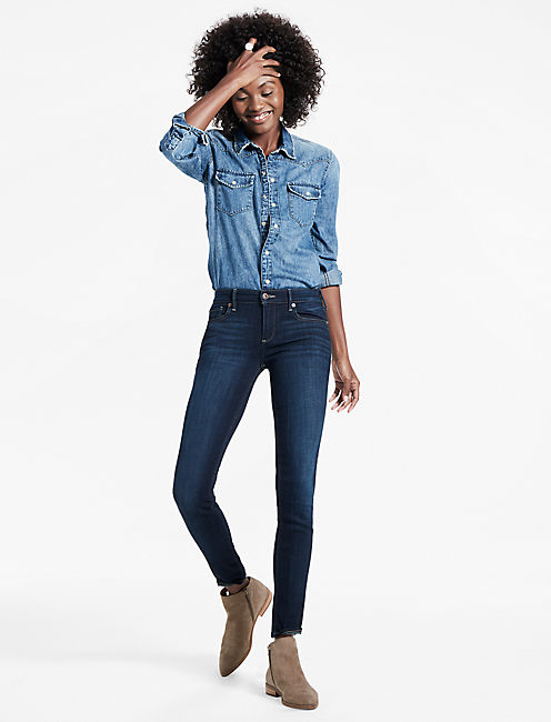 Lucky Stella Low Rise Skinny Jean In Laketown