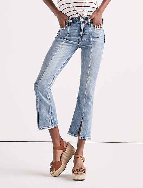 BRIDGETTE HIGH RISE MINI BOOT JEAN IN ALAMITOS,
