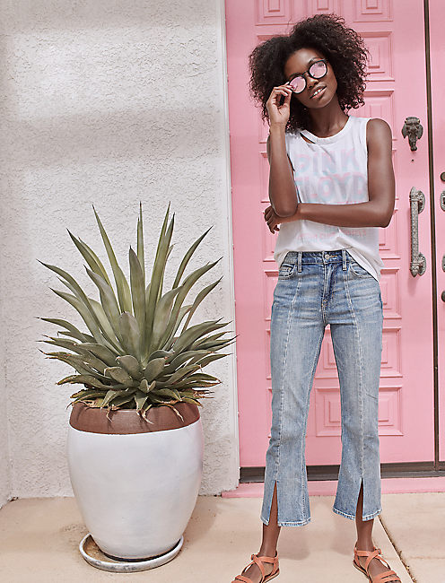 BRIDGETTE HIGH RISE MINI BOOT JEAN IN ALAMITOS, ALAMITOS