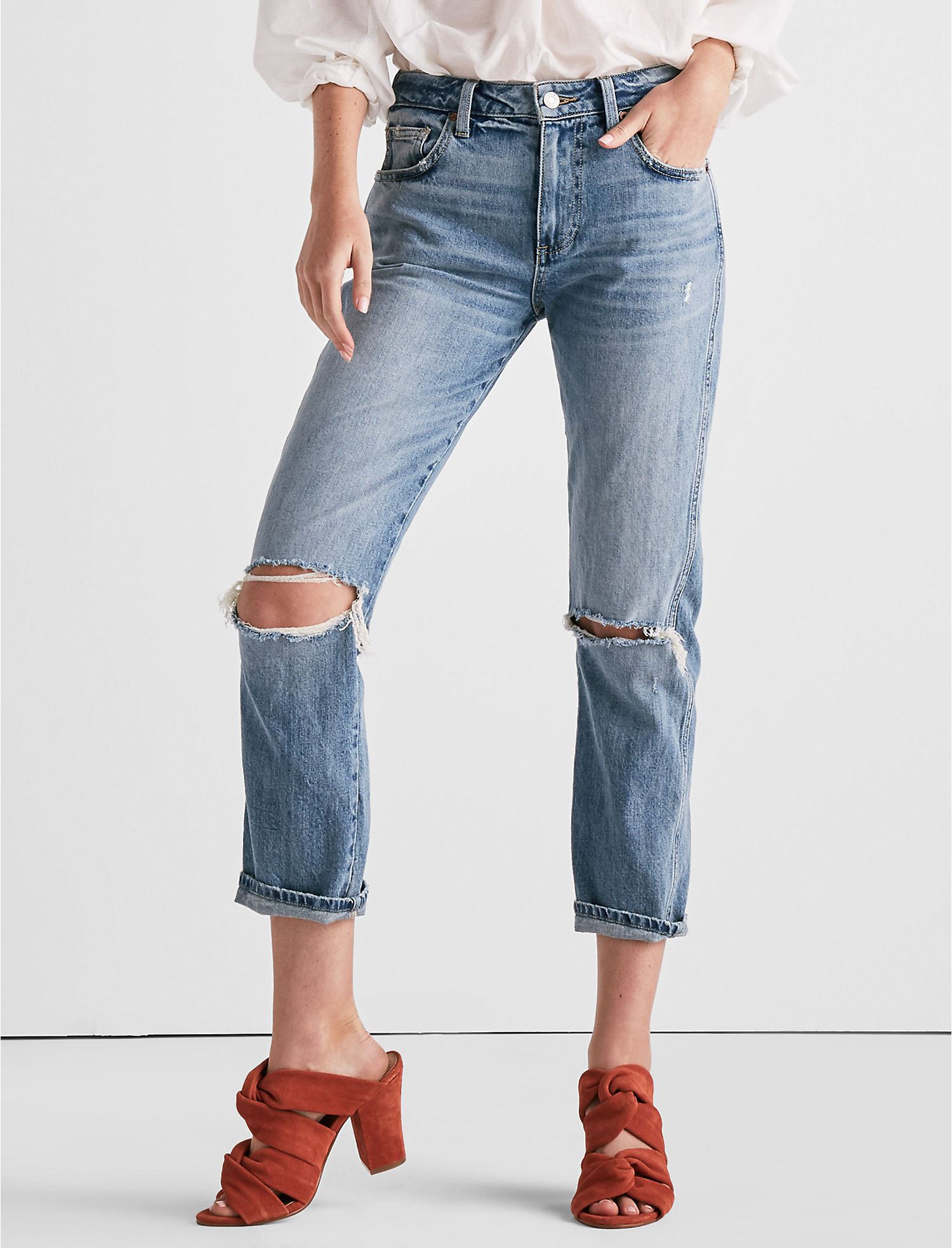 f9d83084c8 High Rise Tomboy Jean In Headliner Chew at Lucky Brand Jeans in ...