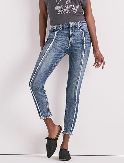 BRIDGETTE HIGH RISE SKINNY JEAN IN KALLIN,