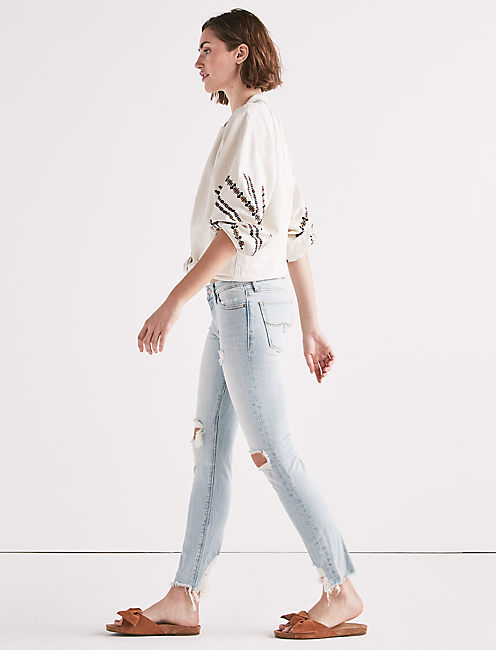 Lucky Lolita Mid Rise Skinny Jean