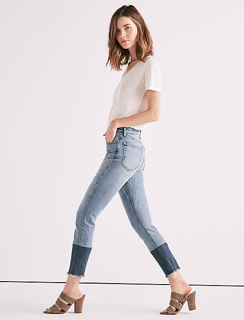 BRIDGETTE HIGH RISE SKINNY JEAN IN OREGON,
