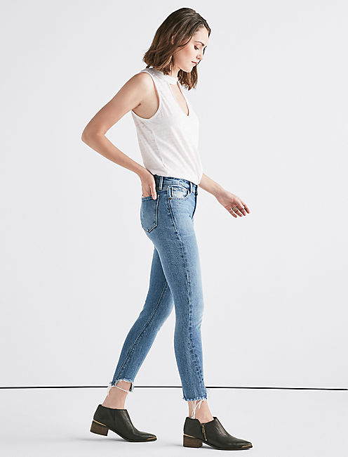 Lucky Remade Ava Mid Rise Skinny Jean