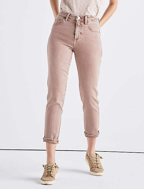 The High Rise Tomboy Jean in Cadoux Pink, CADOUX