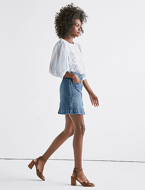 Lucky Denim A Line Skirt