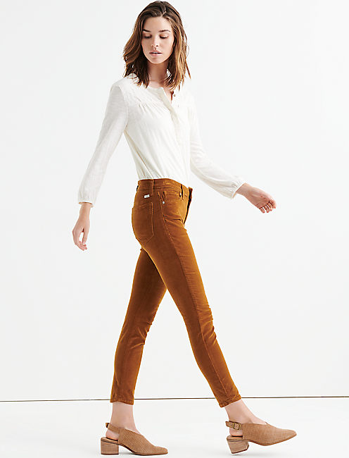 Lucky Ava Mid Rise Skinny Corduroy Pant