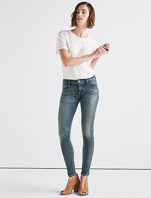 Lucky Lolita Mid Rise Super Skinny Jean
