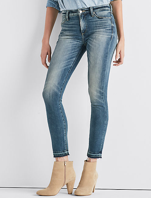 Hayden High Rise Skinny Jean, GREEN VALLEY