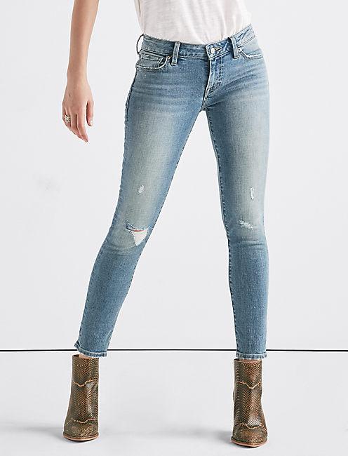 Lolita Mid Rise Skinny Jean,