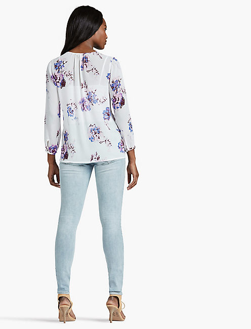 EXPLODED FLORAL PEASANT,