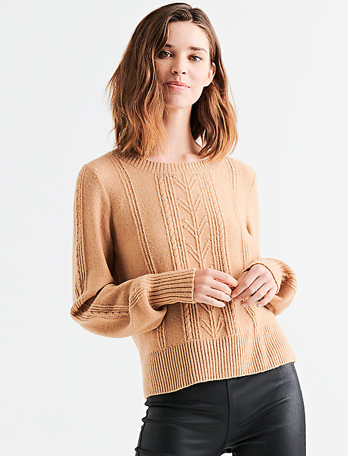 CABLE STITCH PULLOVER,
