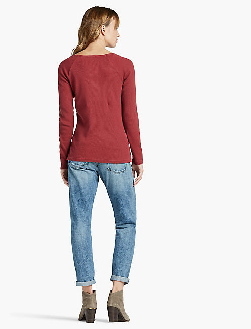 YOKE EMBROIDERED THERMAL,