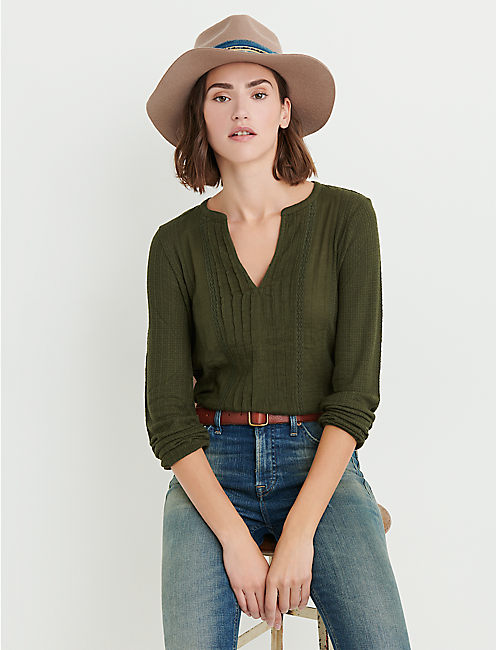 SOLID WOVEN DROP NEEDLE PEASANT, FOREST NIGHT