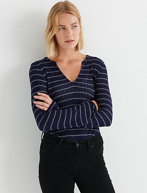 STRIPE DROP NEEDLE PEASANT,