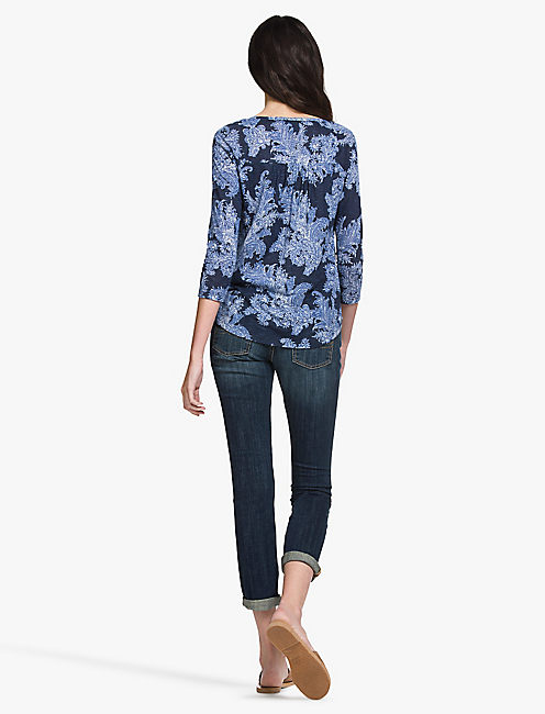 EXPLODED PAISLEY TOP,
