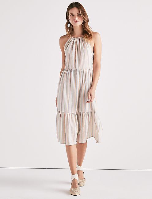 PASTEL STRIPE DRESS,