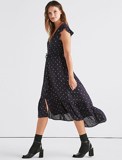 ERIN PRINTED DRESS,