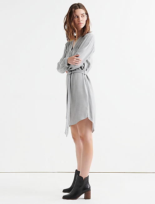 POPOVER SHIRT DRESS,