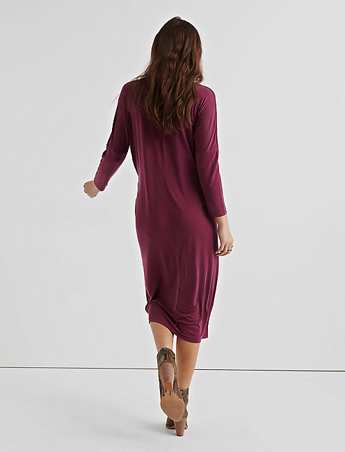 SANDWASH SIDE TIE DRESS,