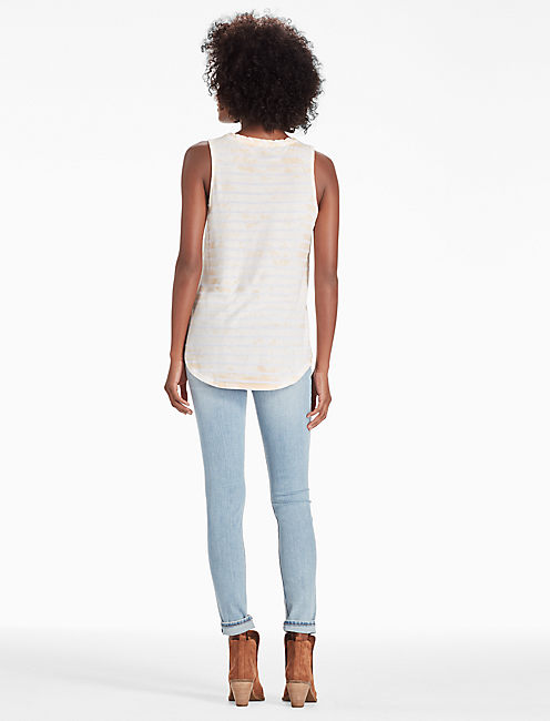 DESERT WILLOW TANK, PEACH WHIP