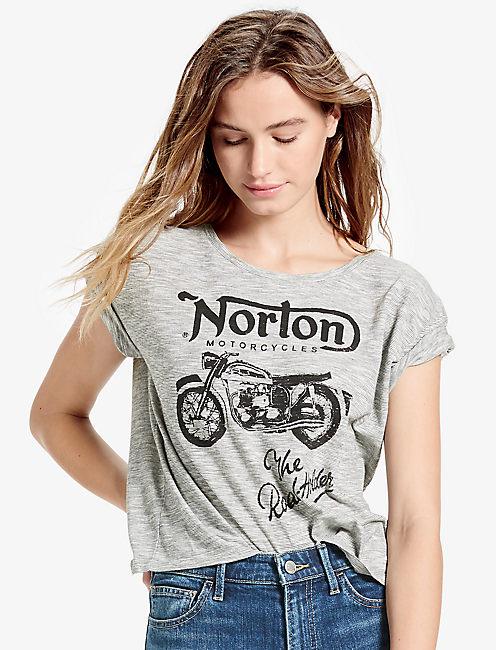 NORTON STRIPED TEE,