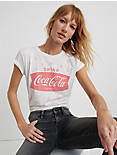 DRINK COCA COLA TEE, LUCKY WHITE