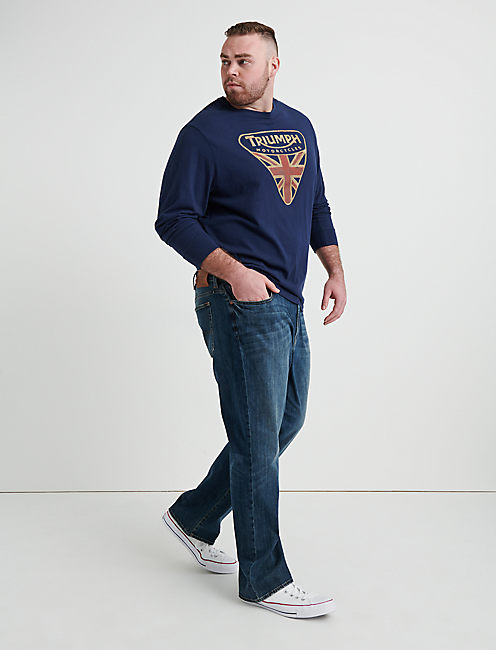 181 Relaxed Straight Big & Tall Jean