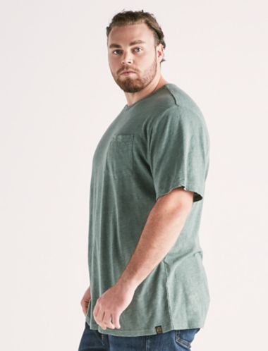 Lucky Linen Pocket Crew Tee