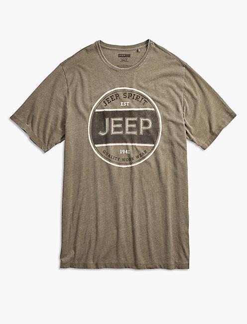 Big and Tall  Jeep Spirit Workwear Tee,