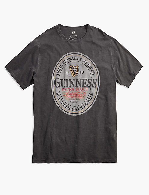 Big and Tall Guinness Oval Tee,