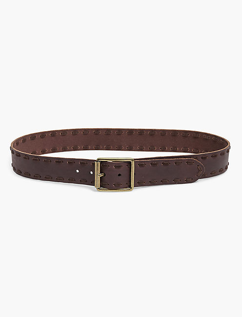 SUEDE LACE BELT,