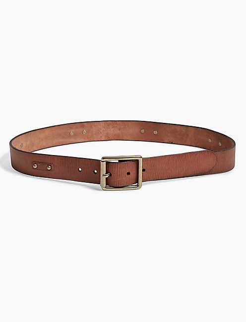 STUD LEATHER BELT,