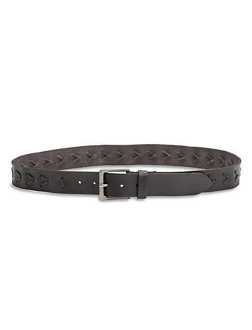 BORREGO BRAIDED LEATHER BELT,