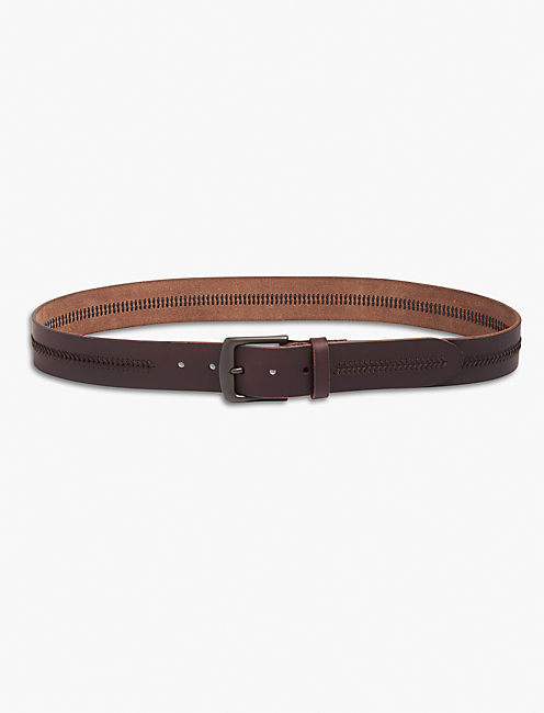 CHEVRON STITCH BELT,
