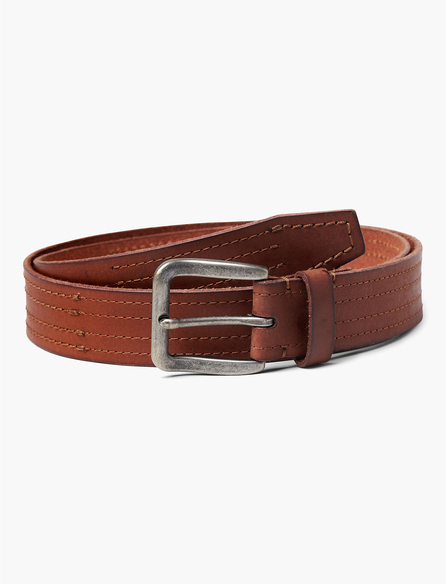 Stitched Leather Belt | Tuggl