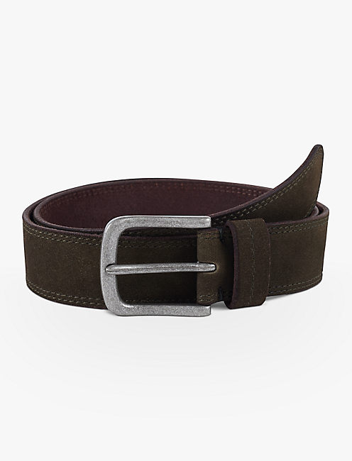SUEDE STITCH BELT,