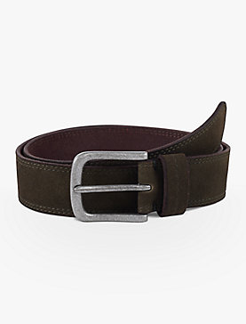 SUEDE STITCH BELT